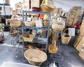 Assorted baskets new & used