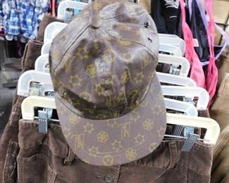 Designer influenced brown vinyl caps