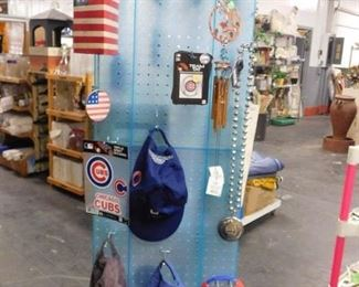 Assorted Chicago Cubs & White sox collectibles