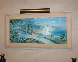 Walter Visgalay print of Laguna Beach