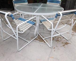 larger patio set