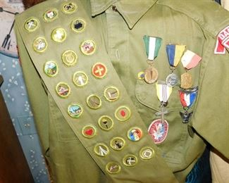 1950'S ERA Boy Scouts Eagle Scout Uniform