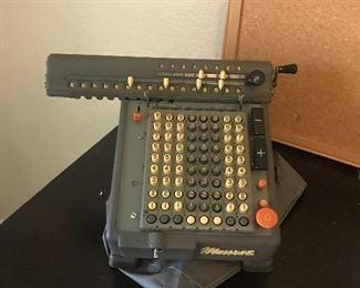 Vintage Monroe calculating machine