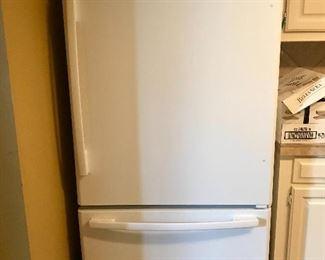Whirlpool Gold series refrigerator with freezer drawer