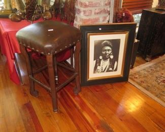 1 of bar stools, indian picture
