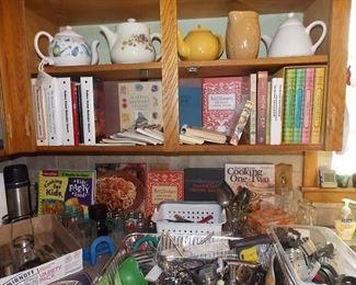Cookbooks Teapots