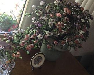 Lovely stone plant arrangement