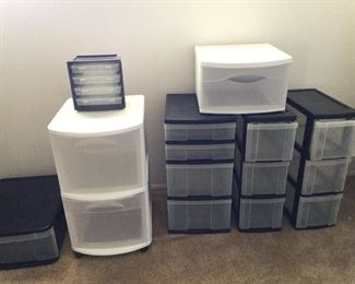 And even more storage drawers, and still more!