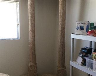 Second set of garden columns
