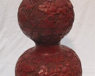 Chinese double gourde vase