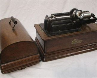 Edison cylinder record player