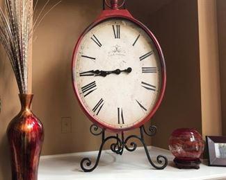 Here's the clock again.