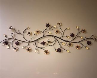 So darling - metal wall hanging - love this piece!