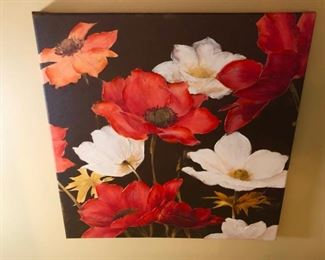 love this painting of poppies.  This may be a giclee, not sure, sorry.