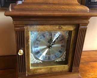 This is a lovely mantle clock with a gorgeous sound to it - westminster chimes