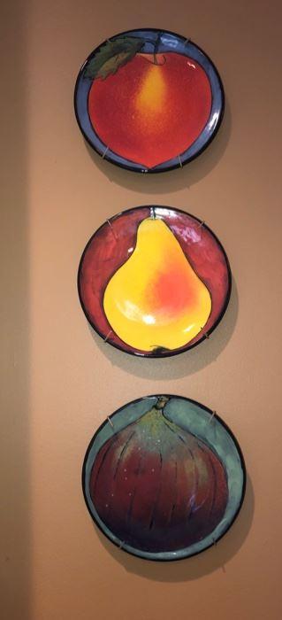 3 fruit plates