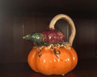 pumpkin pitcher