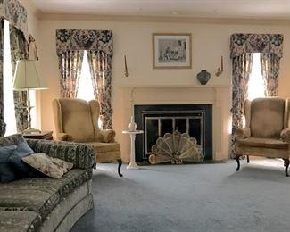 Classic living room.