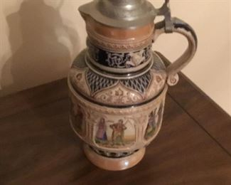 Large vintage German pitcher