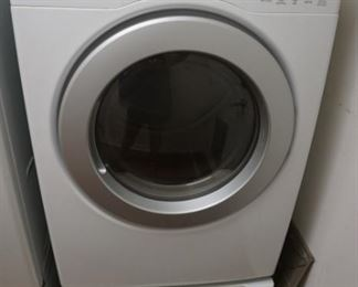 LG Dryer with Pedestal