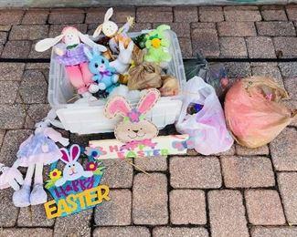Bin of Easter Decor https://ctbids.com/#!/description/share/214252