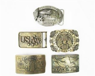 Patriotic Belt Buckles