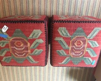 Pair of Ottomans
