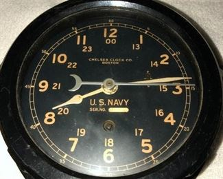 US NAVY CLOCK