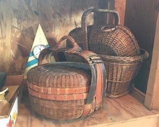 Antique baskets