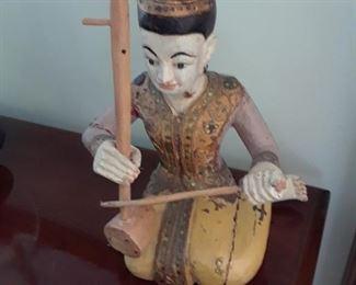 Balinese figure, wood