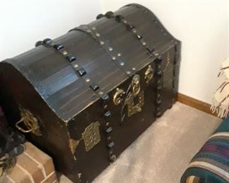 Hand made ship trunk/treasure chest
