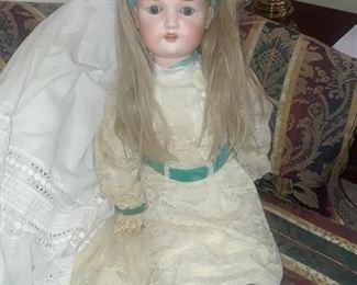 "Bisque doll, 31"" , Armand Marseille"