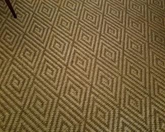 Newer sisal rug