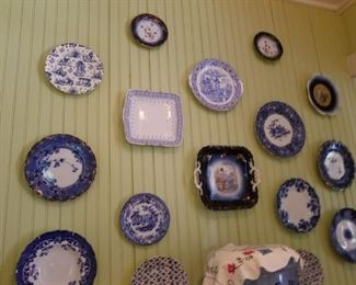 Lots of  vintage plates (not all pictured in sale)