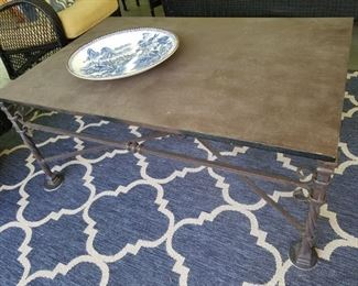 La Barge coffee table (rug may be in the sale)