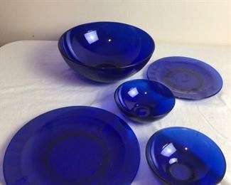 Cobalt Dishes