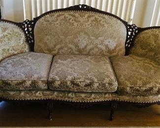 Vintage Custom Upholstry Sofa