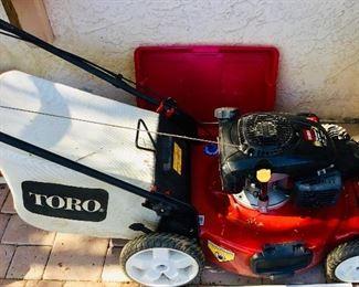 TORO mower- great condition
