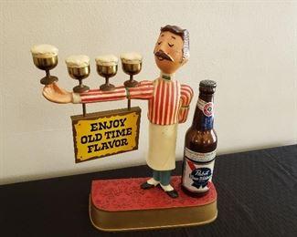Vintage Cast Pabst Bartender Sign https://ctbids.com/#!/description/share/214908