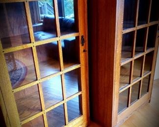 Arts and Crafts style bookcases (3 available)
