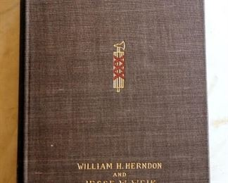 """Abraham Lincoln, The True Story Of A Great Life' By William Herndon And Jesse Weik, Volumes 1& 2, 1902, The McFarland Collection"
