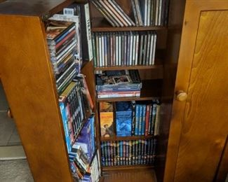 $20   CD Storage cabinet