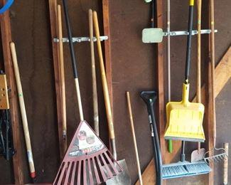 Yard tools.