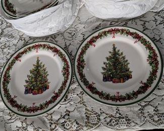$12 each Christopher Radko small plates