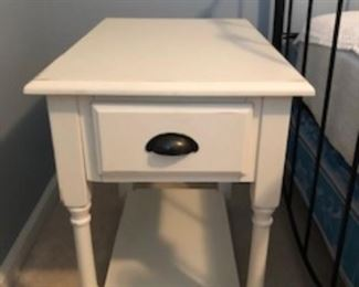 Same as the first.....end table with storage.