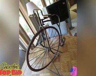 Heavy Duty Antique Style Bicycle Decor