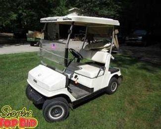 Golf Cart, Runs Great!