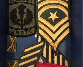 military JROTC badges