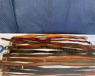 Assorted Belts