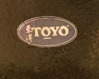 Toyo Japan label